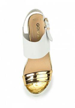 Босоножки Gold Key                                                                                                              белый цвет