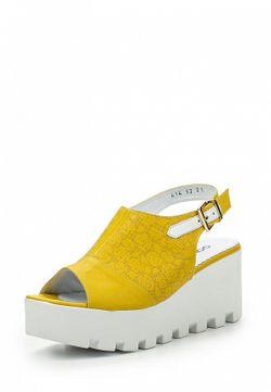 Босоножки Gold Key                                                                                                              желтый цвет