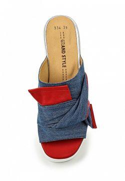 Сабо Grand Style                                                                                                              синий цвет