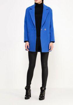 Пальто Grand Style                                                                                                              синий цвет