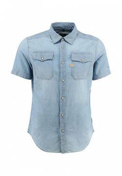 Рубашка G-Star                                                                                                              голубой цвет