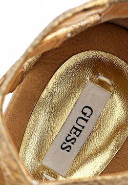Сандалии Guess                                                                                                              золотой цвет