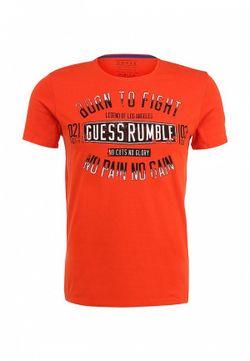 Футболка Guess                                                                                                              оранжевый цвет