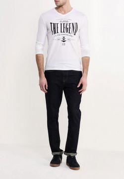 Лонгслив Jeans Guess                                                                                                              белый цвет