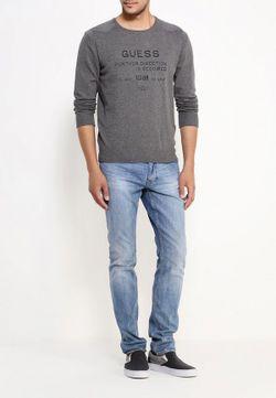 Джемпер Jeans Guess                                                                                                              серый цвет
