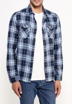 Рубашка Jeans Guess                                                                                                              синий цвет