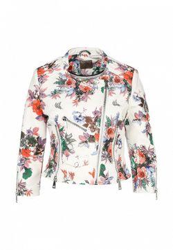 Куртка Кожаная Guess                                                                                                              белый цвет
