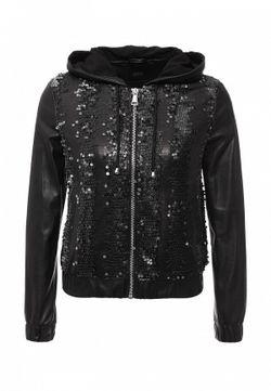 Куртка Кожаная Jeans Guess                                                                                                              чёрный цвет