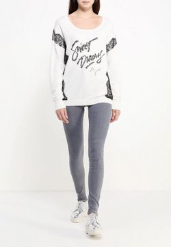 Джемпер Jeans Guess                                                                                                              белый цвет