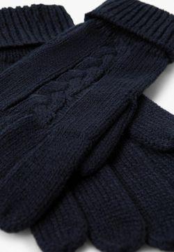 Перчатки Mango Man                                                                                                              черный цвет