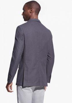 Пиджак Mango Man                                                                                                              серый цвет