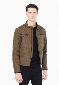 Куртка Утепленная Mango Man                                                                                                              коричневый цвет