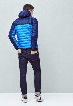 Куртка Утепленная Mango Man                                                                                                              синий цвет