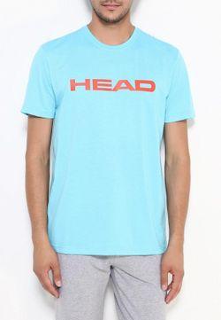 Футболка Head                                                                                                              голубой цвет
