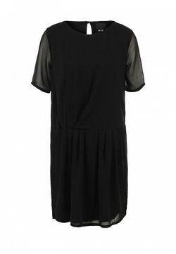 Платье ICHI                                                                                                              чёрный цвет