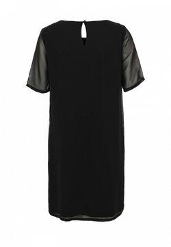 Платье ICHI                                                                                                              черный цвет