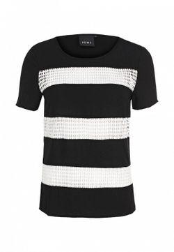 Блуза ICHI                                                                                                              черный цвет