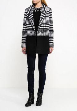 Пальто ICHI                                                                                                              черный цвет