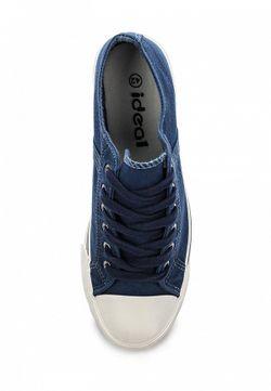 Кеды Ideal                                                                                                              синий цвет
