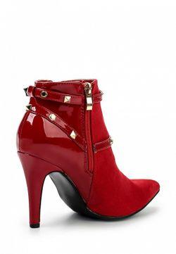 Ботильоны Ideal                                                                                                              красный цвет