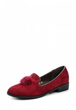 Лоферы Ideal                                                                                                              красный цвет