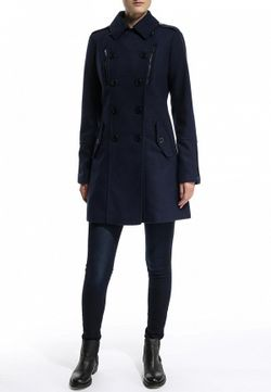 Пальто Incity                                                                                                              синий цвет
