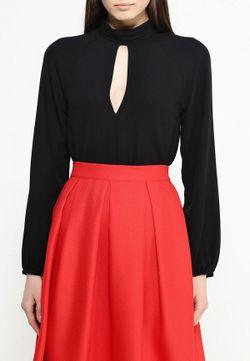 Блуза Influence                                                                                                              черный цвет