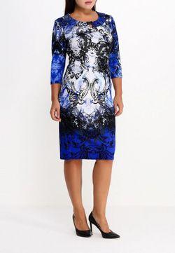 Платье Indiano Natural                                                                                                              синий цвет