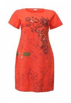 Платье Indiano Natural                                                                                                              красный цвет