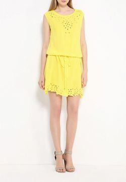 Платье Indiano Natural                                                                                                              желтый цвет