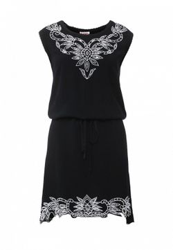 Платье Indiano Natural                                                                                                              чёрный цвет