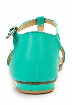 Сандалии Inario                                                                                                              зелёный цвет