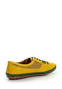 Полуботинки Inario                                                                                                              желтый цвет