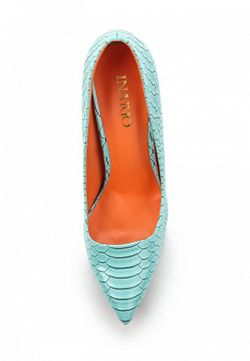 Туфли Inario                                                                                                              голубой цвет
