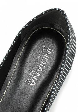 Балетки Indiana                                                                                                              черный цвет