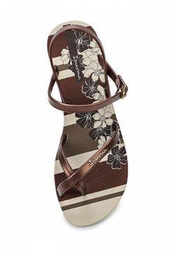 Сандалии Ipanema                                                                                                              коричневый цвет