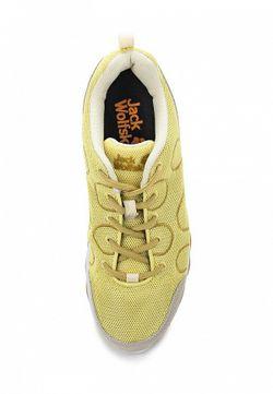Кроссовки Jack Wolfskin                                                                                                              желтый цвет