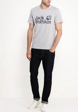Футболка Jack Wolfskin                                                                                                              серый цвет