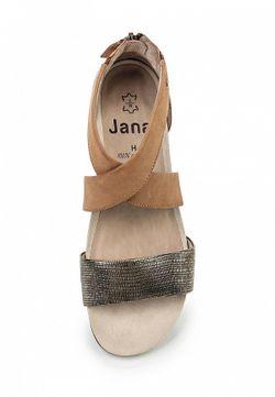 Сандалии Jana                                                                                                              многоцветный цвет