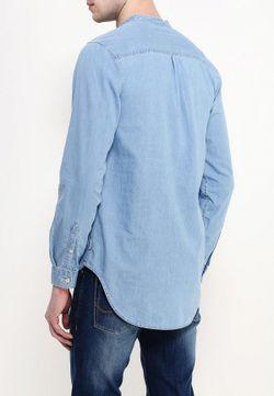 Рубашка Джинсовая Jack Amp Jones Jack & Jones                                                                                                              голубой цвет