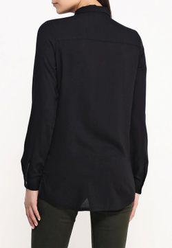 Рубашка Jacqueline de Yong                                                                                                              черный цвет
