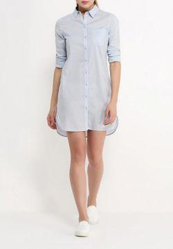 Платье Jacqueline de Yong                                                                                                              голубой цвет