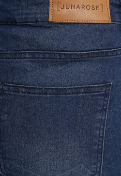 Юбка Джинсовая Junarose                                                                                                              синий цвет