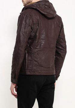 Куртка Кожаная Justboy                                                                                                              коричневый цвет