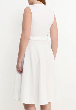 Платье Just Joan                                                                                                              белый цвет