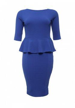 Платье Just Joan                                                                                                              синий цвет
