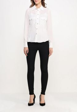 Рубашка Just Cavalli                                                                                                              белый цвет