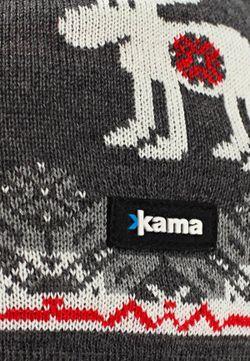 Шапка Kama                                                                                                              серый цвет