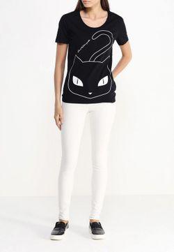 Футболка Karl Lagerfeld                                                                                                              чёрный цвет