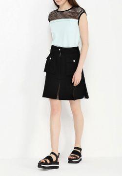Юбка Karl Lagerfeld                                                                                                              черный цвет